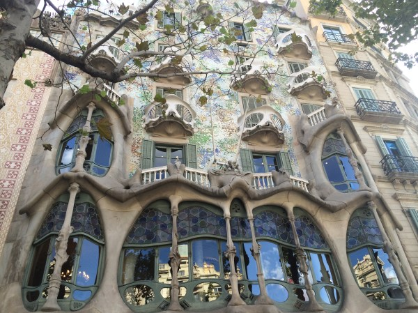 Beauty of Gaudi's creations