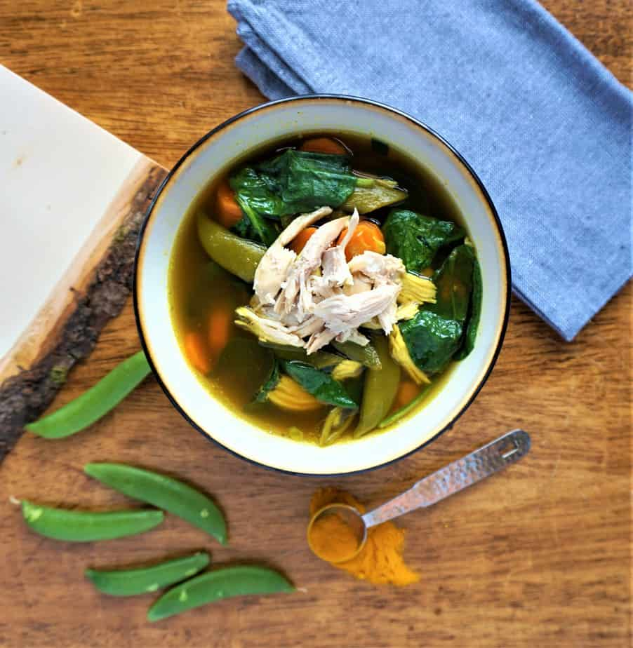 Golden Gut Healing Soup | Love Your Taste Buds