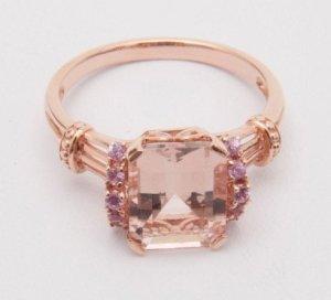 jewelry morganite ring