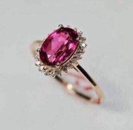 ruby prong setting wedding ring 18k yellow gold