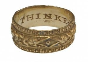 ancient greek wedding ring
