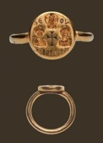 visigoth wedding ring 7th century ad