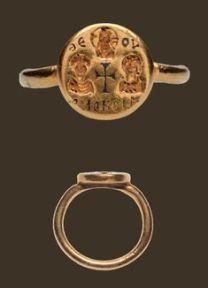 visigoth wedding ring 7th century ad