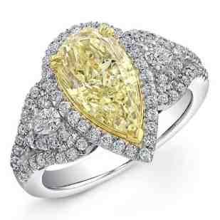 white-yellow-diamond-gold-pear-shaped-fancy