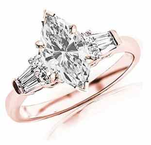 1-1-carat-t-w-gia-certified-marquise-cut-14k-white-gold-prong-set-round-and-baguette-diamond-engagement-ring