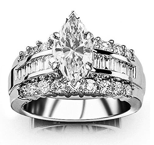 We Review 7 Marquise Or Navette Cut Diamond Rings