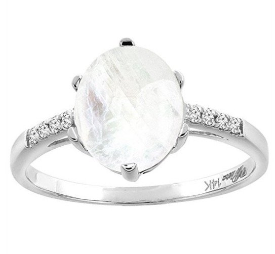 14k-white-gold-natural-rainbow-moonstone-diamond-ring-oval-10x8-mm