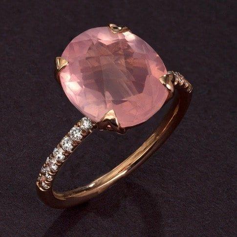 rose-quartz-ring-oval-engagement-ring-3-75-carat-natural-intense-pink-rose-quartz-solitaire-engagement-ring-14k-rose-gold