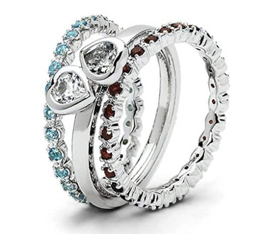 best stackable rings with stones review