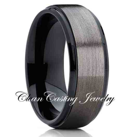 tungsten-ring-mens-brushed-gunmetal-tungsten-ring-tungsten-carbide-ring-anniversary-ring-comfort-fit-ring
