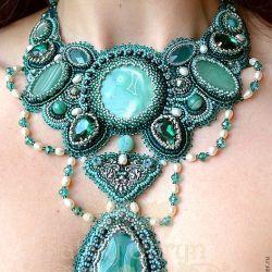 livemaster ru statement necklace