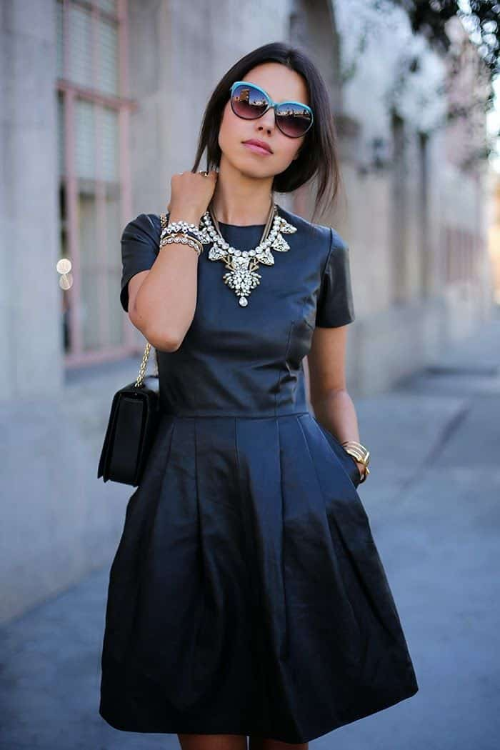 simple statement necklace