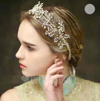Amazing Rhinestone Imitation Pearls Headbands