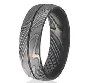 Damascus Steel Rings For Men