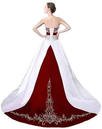 Faironly D229 Women's Wedding Dress Bridal Gown