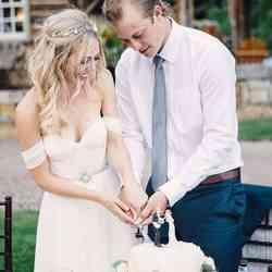 Lovelybride Elegant a Line Empire Long Chiffon Bridal Beach Wedding Dress review