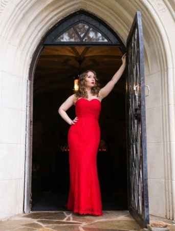 buy red wedding dress online