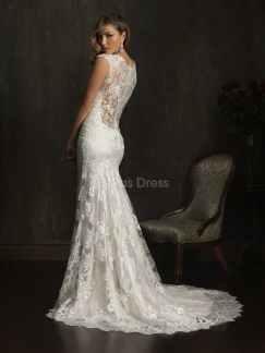 court train wedding dress