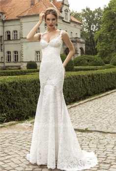 sweep train wedding dress
