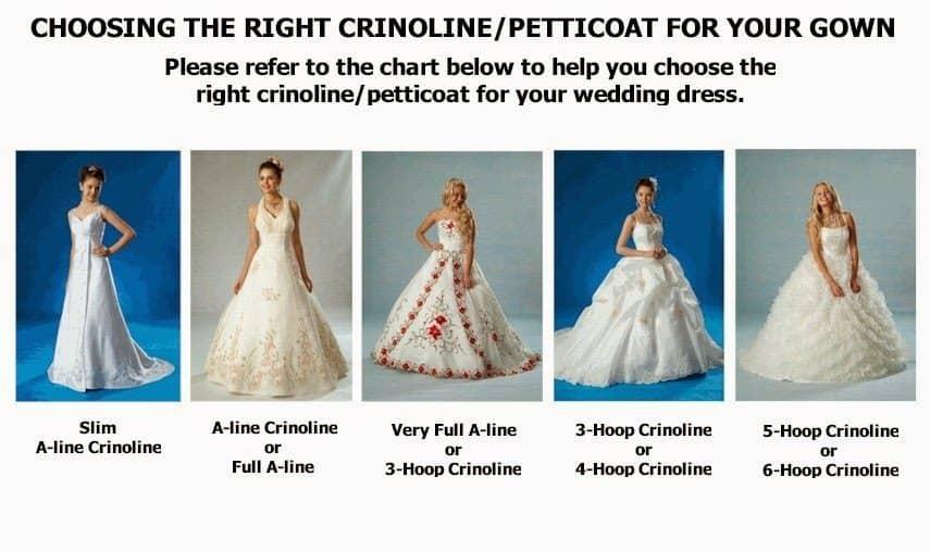 2019 White 6-HOOP Petticoat Wedding Gown Crinoline Petticoat Skirt Slip //3-HOOP