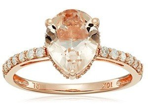 morganite pear shaped