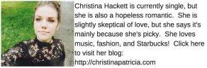 christina patricia hackett