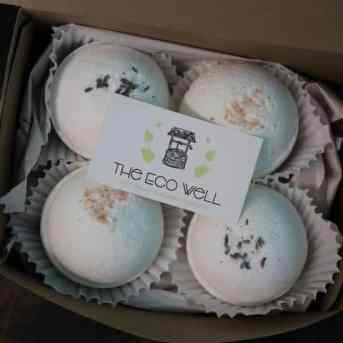 bathbomb box by the eco well