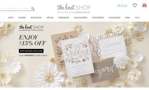 knot wedding shop