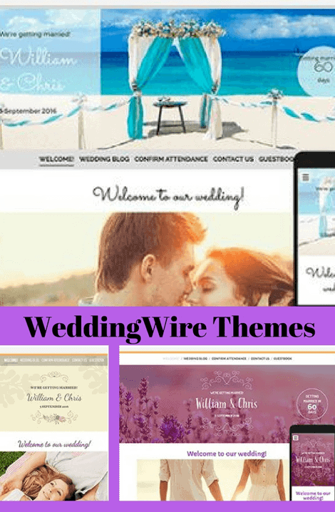 wedding wire themes