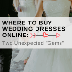 "Where to Buy Wedding Dresses Online: Two Unexpected ""Gems"""