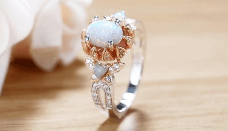 vancaro opal ring