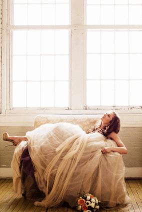 falda tul novia