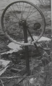 Донка колесо на леща