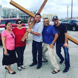 FROM HATE TO LOVE ON A CROSS OUTREACH