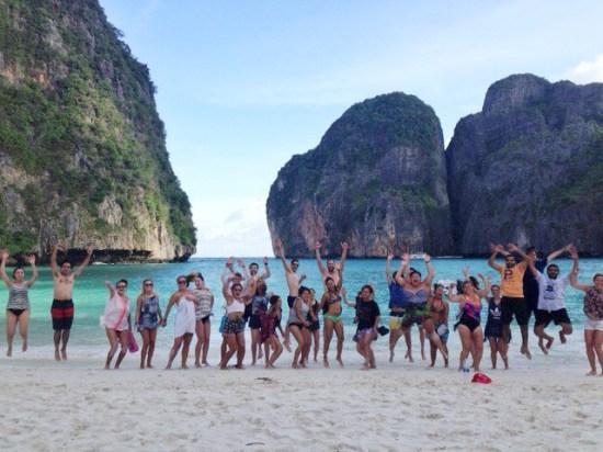 the beach jump