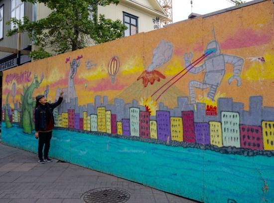 Street Art of Reykjavik, Iceland