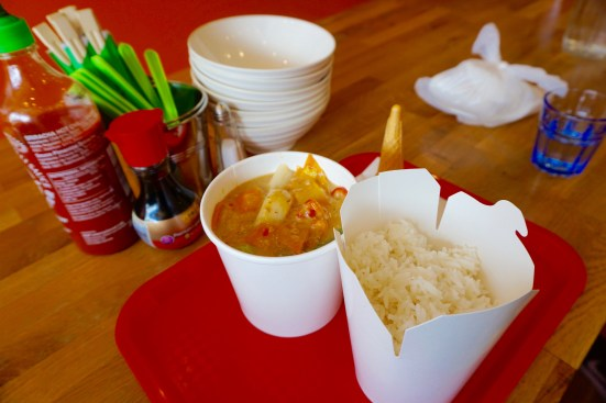 Veggie Curry from Nore Asian Street Food