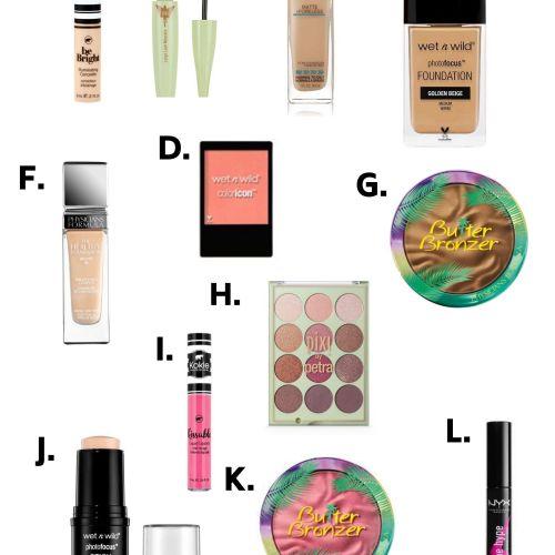 Best Makeup on a Budget