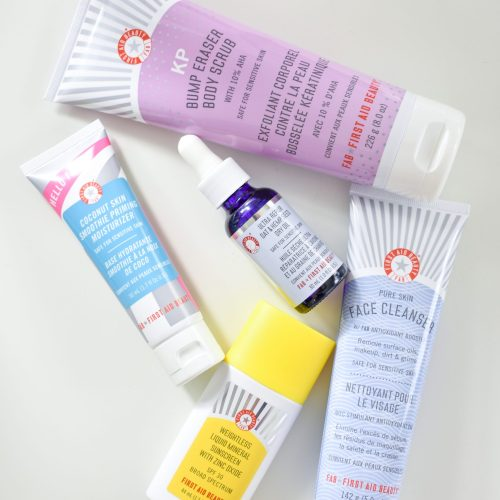 First Aid Beauty Products That I Love