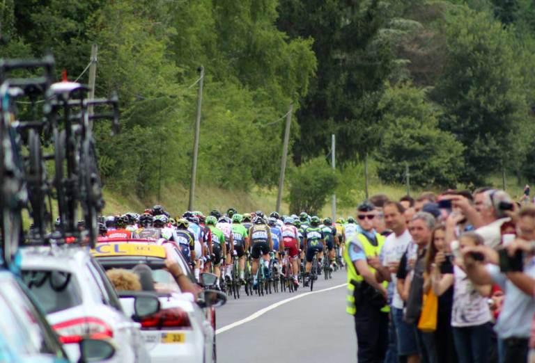 Course de vélo tour de France