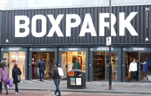 Boxpark Hackney Road Lon E2 3 March 2012
