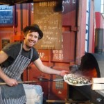 Homeslice wood-fired pizzas @ Street Feast Dalston opening 6 July 2012
