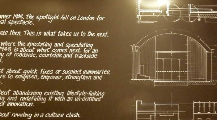 Nike Shoreditch showroom: statement in front garden and in foyer London