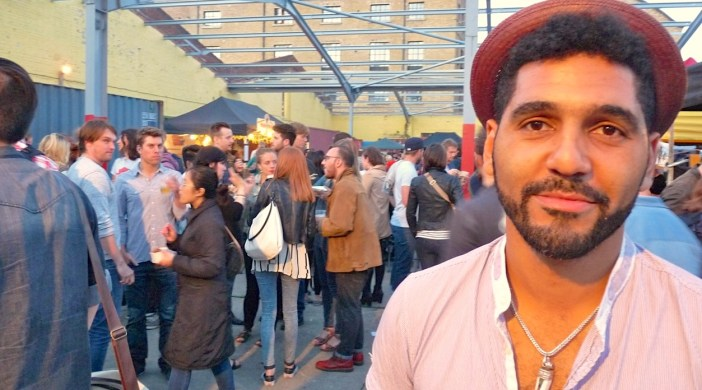 Dominic Cools-Lartigue, founder of Street Feast London, at Dalston version summer 2012