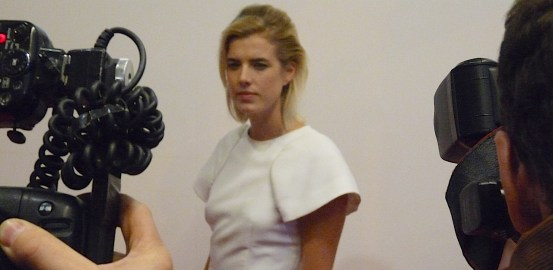 Agyness Deyn @ Hackney Picturehouse lead in film debut as Flo in remake of 1996 Danish film Pusher © David Altheer