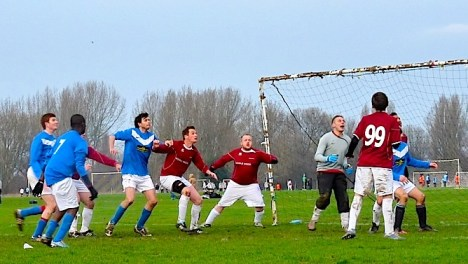 Birkbeck Orient defeating Haggerston. See 13 January report below