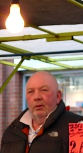 Market force: Larry Julian, chairman of Ridley Road Traders' Association