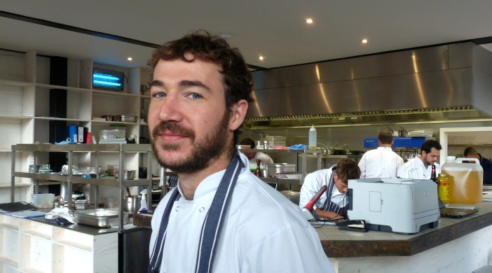 Alan Stewart chef at Proud Archivist, 2 Hertford Road, Kingsland Road, N1 5ET, 121013 © david.altheer@gmail.com