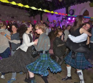 Burns supper: St Mark's Dalston Lon E8 26 Jan 2013 Ceilidh Liberation Front  270113 © david.altheer@gmail.com