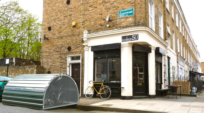 Bikehangar Stoke Newington London N16 260314 © david.altheer@gmail.com